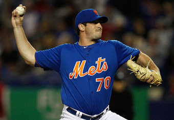 Matt Harvey is a big reason why the Mets will not have a spot in their 2013 rotation for Mike Pelfrey.