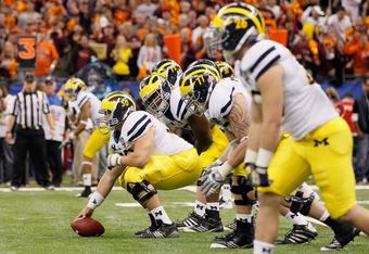 Michigan C David Molk would be a Saturday steal for Baltimore