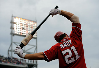 Xavier Nady isn't giving the Nationals enough power in left field.