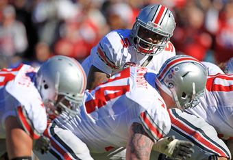 JACKSONVILLE, FL - JANUARY 02:  Quaterback Braxton Miller #5 of Ohio State Buckeyes calls a play during the TaxSlayer.com Gator Bowl against the Florida Gators at EverBank Field on January 2, 2012 in Jacksonville, Florida.  (Photo by Scott Halleran/Getty