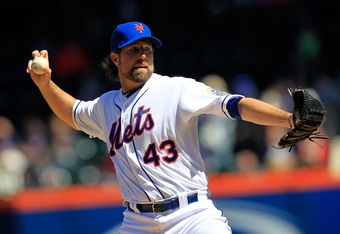 As the last remaining knuckleballer in MLB, R.A. Dickey represents over 100 years of hurlers to use the dancing pitch
