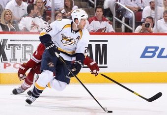 Defenseman Ryan Suter picked up his second point, and first goal, in the playoffs in Game Two of the Phoenix series.