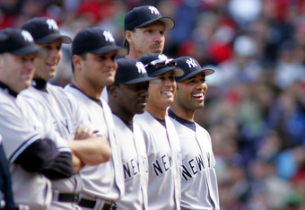 Rivera enjoyed a laugh on opening day in 2005 when he received a rousing ovation from the Fenway crowd.