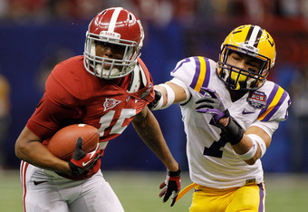 Alabama exposed some of Mathieu's deficiencies in the BCS championship game
