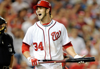 How a young player like Bryce Harper responds to challenges determines what kind of future he has, in Ozzie Smith's view.