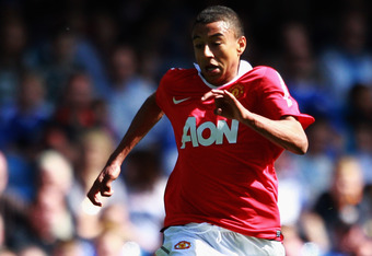 LONDON, ENGLAND - APRIL 10:  Jesse Lingard of Manchester United in action during the FA Youth Cup Semi Final 1st Leg match between Chelsea and Manchester United at Stamford Bridge on April 10, 2011 in London, England.  (Photo by Dean Mouhtaropoulos/Getty