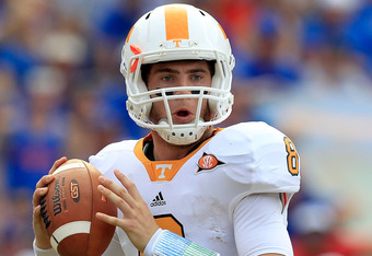 Tennessee quarterback Tyler Bray