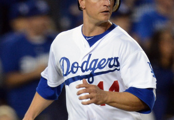 Mark Ellis has a good place in the Dodgers' lineup in front of Kemp and Ethier.