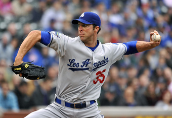 Chris Capuano has been among the Dodgers pitchers keeping them on top all season.