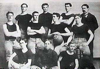 1899 Kansas basketball team, courtesy of wikipedia.org