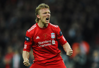 Although inconsistent, Dirk Kuyt has been a significant presence for Liverpool since his arrival.