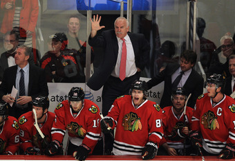 'Hawks coach Joel Quenneville is currently looking for a new assistant after firing Mike Haviland this month.