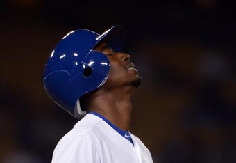 Dee Gordon's sophomore slump remains a concern for the Dodgers.