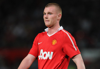 MANCHESTER, ENGLAND - APRIL 20:  Ryan Tunnicliffe of Manchester United looks on during the FA Youth Cup Semi Final 2nd Leg between Manchester United and Chelsea at Old Trafford on April 20, 2011 in Manchester, England.  (Photo by Michael Regan/Getty Image