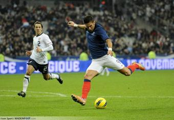 In action against the USA in November.