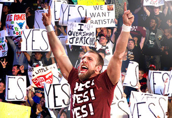 """Daniel Bryan's """"YES Chants"""", that's Marking Out for yourself right?"""