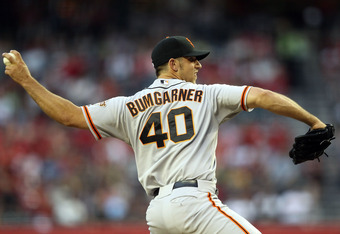 Bumgarner is coming into his own