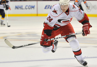 Bobby Sanguinetti could see more time on the 'Canes in '12-'13.