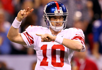 Even Eli Manning will have to improve.