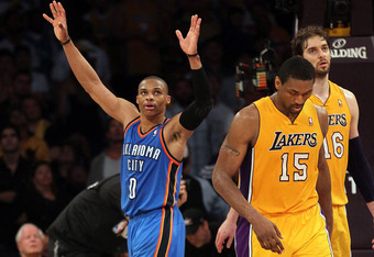 With the season now over, two of the Lakers with very uncertain futures are Pau Gasol and Metta World Peace.