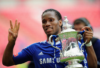 Image result for didier drogba chelsea 2010 fa cup