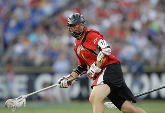 BALTIMORE, MD - MAY 28: Grant Catalino #1 of the Maryland Terrapins in action against the Duke Blue Devils during the first half in the Division 1 Men's Lacrosse Championship Semifinals at M&T Bank Stadium on May 28, 2011 in Baltimore, Maryland.  (Photo b