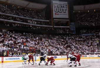 Fans and management hope Jobing.com Arena is not dark in seasons to come.