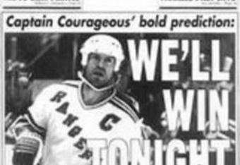 Messier in '94 -- Photo Courtesy of the New York Post