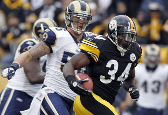 It looks like Rashard Mendenhall will be able to play in 2012, but it's doubtful he'll be ready for Week 1 like he hopes