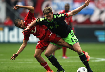 Ajax Defender Jan Vertonghen