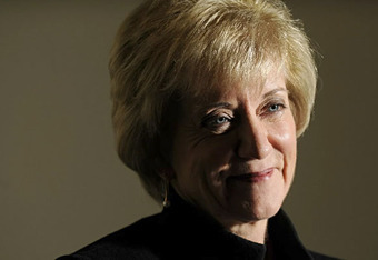 Senate hopeful Linda McMahon's gloomy past as WWE CEO has become a popular subject of editorial fodder in Connecticut.