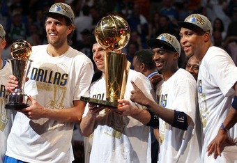 Dallas won the 2011 Finals with three veterans over the age of 30 leading the charge.