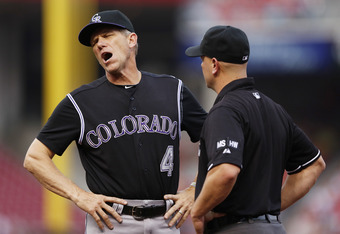 Why aren't fellow umpires utilized to make sure the right call is made?
