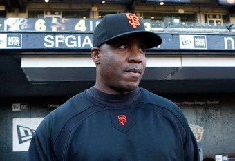 Barry Bonds can't put on this menacing scowl while trying to tutor players.