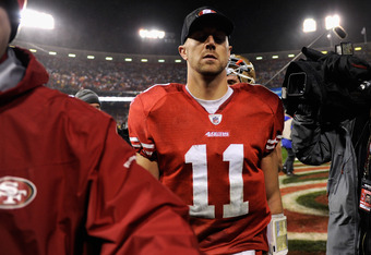 Expect Alex Smith to take the next step in 2012.