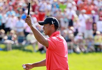 Woods wins #73