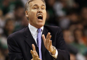 Carmelo denies there was ever a real issue with former head coach Mike D'Antoni