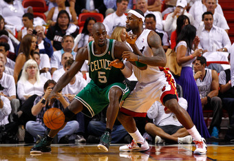Garnett is playing with a will to win right now.