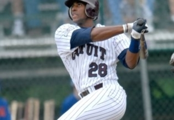 Brewers' first-round draft pick Victor Roache played in the Cape Cod League last summer. (Boston Herald)