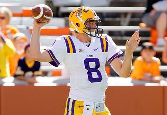 LSU quarterback Zach Mettenberger