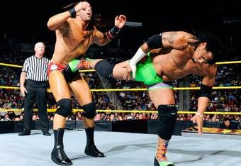 Tyler Reks and Jey Uso (image courtesy of WWE.com)