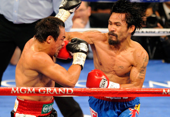 Pacquiao defeated Marquez, but it was not pretty.