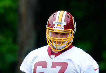 Josh LeRibeus has fulfilled a variety of roles during OTAs.