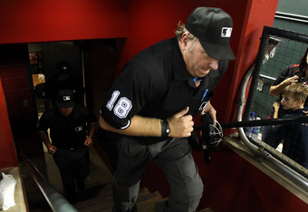 Umpire Brian Runge is the 10th official in MLB history to have been behind home plate for two no-hitters during the same season.