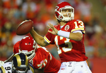 Ricky Stanzi could be the guy if the Chiefs pull the plug on Cassel