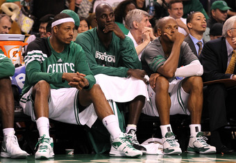 The end of the Celtics Big Three era may soon be drawing to a close.