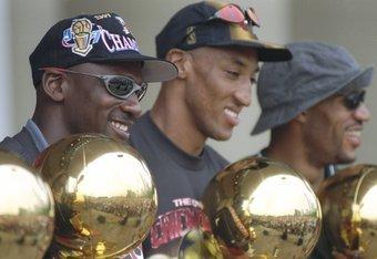 Jordan, Pippen and Rodman