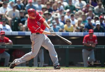 Mark Trumbo: Destroyer of baseballs.