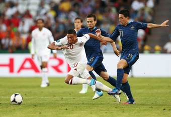 Young winger Alex Oxlade-Chamberlain was impressive for England