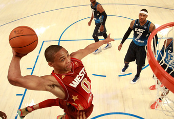 Westbrook certainly left his mark on the 2012 ASG.